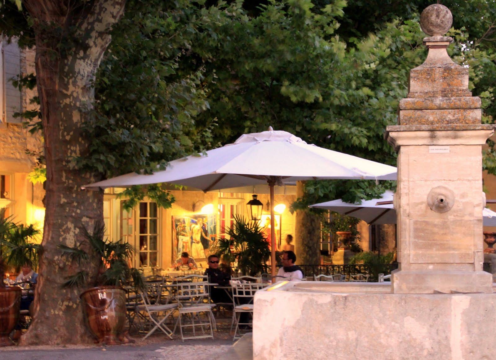 Restaurants mas dou coudounie for Restaurant le beaucet
